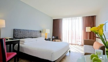 Habitación deluxe king Hotel Krystal Grand Punta Cancún Cancún