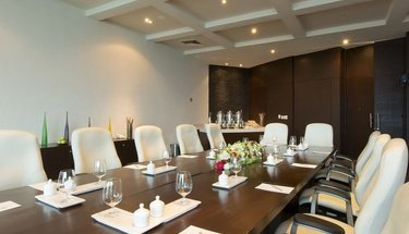 Sala de reuniones Hotel Krystal Grand Punta Cancún Cancún